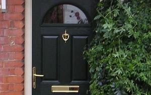 Arched top Composite door