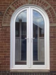 Upvc replacement doors composite doors smethwick birmingham for Arched upvc french doors