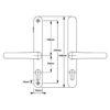 White 68pz no snib to suit Fullex Locks