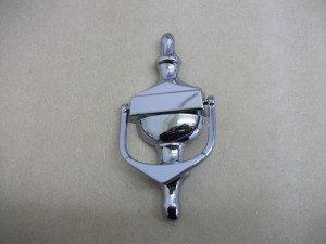 Victorian Meduim Knocker Chrome