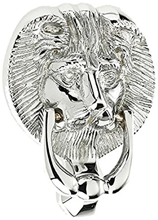 ProLinia Lion Head 5 Knocker Chrome