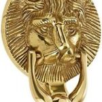 ProLinia Lion Head 4 Knocker Gold