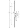 Fuhr Centre Section with Latch, Deadbolt and Roller , Lift lever (L/L)