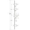 Fullex SL16 Original Latch Central Deadbolt, , Split spindle (S/S) or Lift lever (L/L)