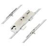 45mm GU Latch, Deadbolt and 2 Small Hooks (Tongues), Lift lever (L/L)
