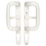 P Handle to suit Fullex Lock White