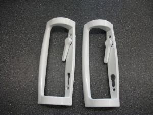 Mila D handle euro on bottom White
