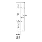 Schlegel Lock Case 15.5 marked MA