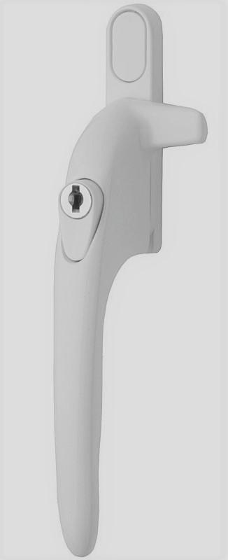 White Virage 21mm Left Hand - white button